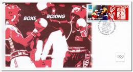 Cuba, Olympic Games, Boxing - Fantasie Vignetten
