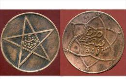 MAROC  5 Mazunas 1340 - Marruecos