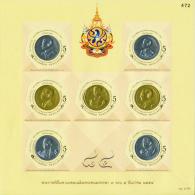 THAILAND - 2011 - Mi BL. 272 II A - H.M. KING BHUMIBOL 7th CYCLE B.D. A - S/S - MNH ** - Thailand