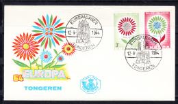 BELGICA   1964 FDC SOBRE 1er. DIA EUROPA CEPT . .NUEVO SIN CHARNELA.SES 528 - Europa-CEPT