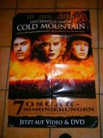 AFFICHE CINEMA 84 X 60 CM   UNTERWEGS NACH COLD MOUTAIN  ( En Allemand ) - Affiches