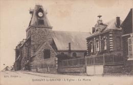 ESSIGNY LE GRAND - L'église  - La Mairie - France