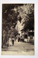 "Cpa De Tahiti  Papéete ""Rue De Rivoli"" En 1910 - French Polynesia"