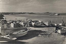 La Escala - Playa Al Fondo Ampurias  Sent To Denmark 1956.  S-138 - Non Classificati