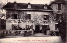 PONT DE MANNE - Entrée De L' Hotel Arnaud     (62524) - Autres Communes