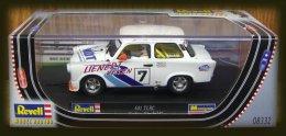"""- REVELL - Voiture De Circuit TRABANT 601 TLRC """" Stefan Romhild """" - 1/32° -  Réf 8332 - - Circuits Automobiles"""