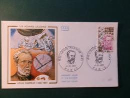 38/137   FDC  FRANCE  OBL.  PARIS - Louis Pasteur