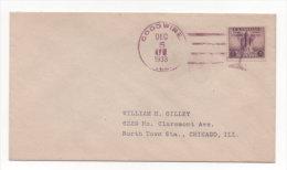 Lot 830:Le Verre, Oblitération USA Goodwine Du 05.12.1933 - Glas & Fenster