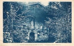 -CPA 91 : SAINTE GENEVIEVE DES BOIS, La Grotte De Sainte Genevieve - Lieux Saints