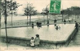 44 St-NAZAIRE  La Pièce D'eau , Boulevard De L'Océan - Saint Nazaire