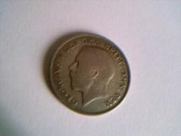 1 Shilling 1921 - Georgius V - Grande- Bretagne - Argent - - 1902-1971 : Monnaies Post-Victoriennes