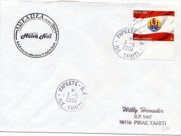 Cachet Commémoratif - Arearea Heiva Nui - Papeete - 3 Mai 2004 - R513 - French Polynesia