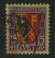 Suisse //Schweiz // Svizzera // Switzerland //  Pro-Juventute 1918 N0. 11 - Usati