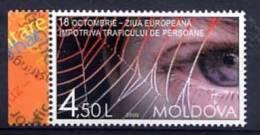 MOLDAVIE MOLDOVA 2009, JOURNEE EUROPEENNE CONTRE TRAFIC PERSONNES, 1 Valeur, Neuf. R1855 - Moldawien (Moldau)
