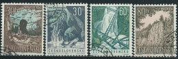Cecoslovacchia 1963 Usato - Mi.1418/21  Yv.1284/7 - Cecoslovacchia