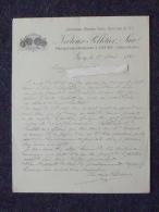 GIVRY (71): Lettre à En-tête 1886 Propriétaire & Négociant Vignobles - NECTOUX-PELLETIER - Vieux Papiers
