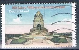 2013   100 Jahre Völkerschlachtdenkmal - Used Stamps