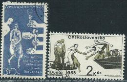 Cecoslovacchia 1965 Usato - Mi.1566/7  Yv.1431/2 - Cecoslovacchia