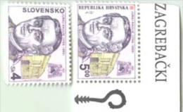 CROATIA - HRVATSKA - SLOVENSKO - Cardinal HAULIK - **MNH - 1999 - Croazia