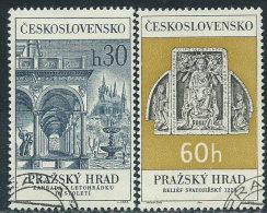Cecoslovacchia 1966 Usato - Mi.1617/8  Yv.1481/2 - Cecoslovacchia
