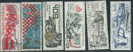 Cecoslovacchia 1969 Usato - Mi.1860/5  Yv.1707/12 - Cecoslovacchia