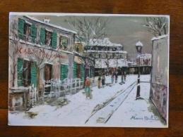 UTRILLO - Le Lapin Agile N° 133 - Peintures & Tableaux