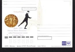 Olympic 1908 Winner Postcard Of Russia