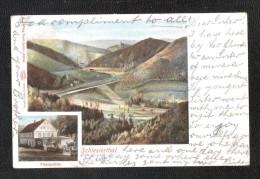 POLEN SCHLESIEN  NIEDERSCHLESIEN Schlesierthal THALMUHLE 1902 Silesia Lower Silesia Silesian Thal District Of Waldenbu - Schlesien