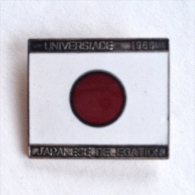 Badge / Pin (Olympic / Olimpique Universiade) - Hungary Budapest 4th Games 1965 JAPANESE DELEGATION - Olympic Games