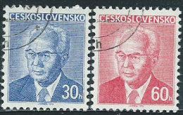 Cecoslovacchia 1975 Usato - Mi.2283y/4y  Yv.2134a/5a - Usati