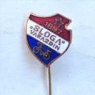 Badge / Pin (Cycling) - Yugoslavia Varazdin Club Sloga 1897 - Cycling