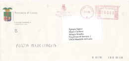 2005 PROVINCIA DI LECCO - Affrancature Meccaniche Rosse (EMA)
