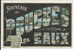Souvenir De POUGUES LES EAUX , 1908 - Pougues Les Eaux