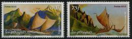 Polynésie 2013 - Les Pirogues En Polynèsie - 2val Neuf // Mnh - Polynésie Française