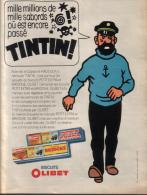 Pub - Biscuits Olibet - Tintin Capitaine Haddock