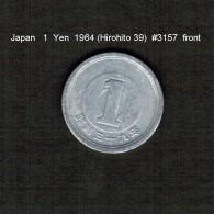 JAPAN    1  YEN  1964  (HIROHITO 39---SHOWA PERIOD)  (Y # 74) - Japan