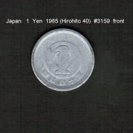 JAPAN    1  YEN  1965  (HIROHITO 40---SHOWA PERIOD)  (Y # 74) - Japan