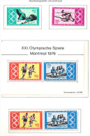 Allemagne Germany  JO Montreal 1976 **  MNH - Estate 1976: Montreal
