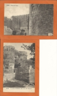 ILE De RHODES - 2 Cpa -  Rodi.,Porta S.Paolo,Porta D'Amboise  (édition Ragozino ) - Grèce
