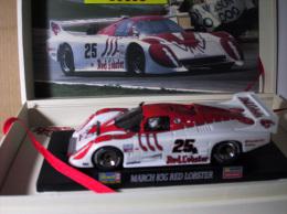 - REVELL - Voiture De Circuit  MARCH 83G Red Lobster Série Limitée  - 1/32° -  Réf 8382 - Circuits Automobiles