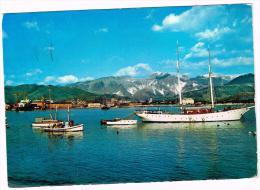 M592 Marina Di Carrara - Il Porto - Barche Boat Bateaux Yacht / Viaggiata 1972 - Carrara