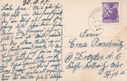 Berlin U. Brandenburg; Postcard 1945 - Zona Soviética