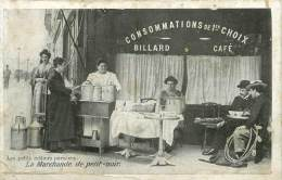 98847 LAAS ET PECAUD LES PETITS METIERS PARISIENS LA MARCHANDE DE PETIT NOIR   ETAT - Artisanry In Paris