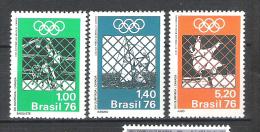 Brésil Brasil  JO Montrèal 1976  **  MNH - Zomer 1976: Montreal