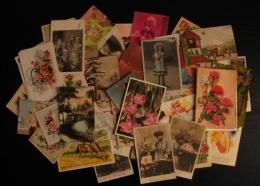 Lot De 150 CPA Et CPSM Petit Format  FANTAISIE - Cartes Postales