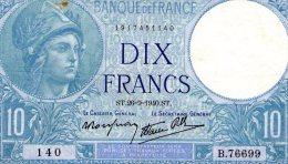 10 Fr Minerve 26/09/1940 - 10 F 1916-1942 ''Minerve''