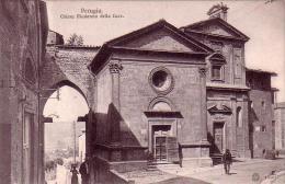 C 9633 - PERUGIA - Italie - Chiesa Madonna Della Luce - Belle Cp  -trés Rare - - Perugia