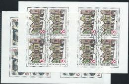 Repubblica Ceca 1994 Usato - Mi.39/40  Yv.38/9  2Minifogli - Repubblica Ceca