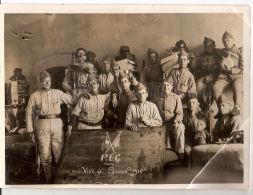 Photographie 117 Régiment Infanterie PEG P E G PEC P E C 1938 Soldats Militaires - Krieg, Militär