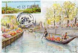 Carte Philamiens 2013 Les Hortillonnages Avec Lisa - Francia